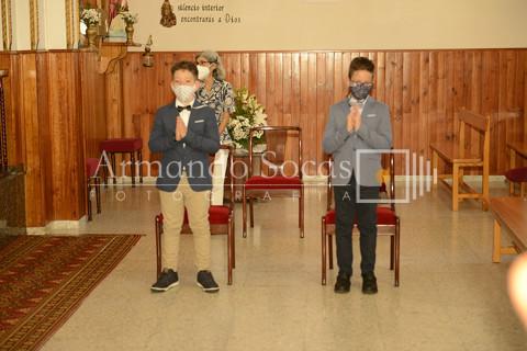 Comunión Jesús y Hugo