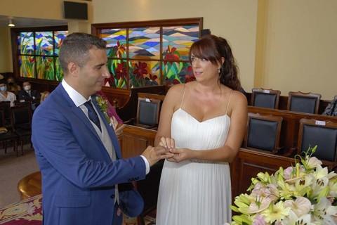 Adrián y Noelia boda